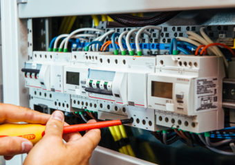 Rozvody elektrické instalace